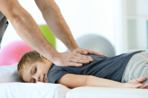 Детский массаж спины