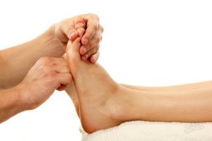 Массаж ног мужчине